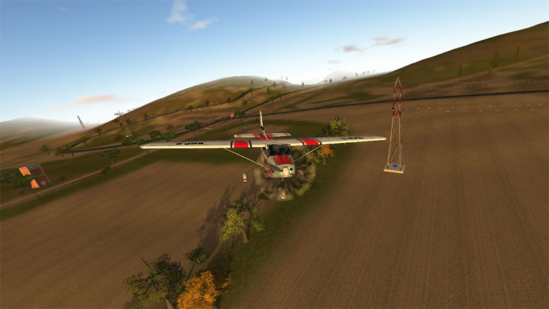 دانلود RC Plane 3 1.2007 - بازی شبیه ساز واقعی هواپیما اندروید + مود + دیتا