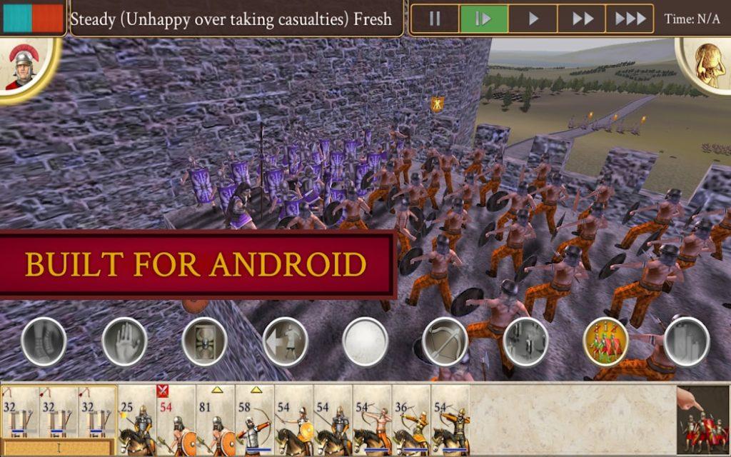 دانلود ROME: Total War 1.13RC15-android - بازی استراتژیک