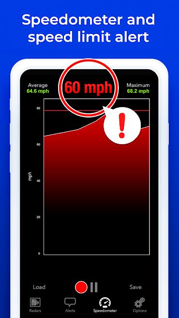 دانلود Radarbot Full 6.66 - برنامه دوربین سرعت سنج پلیس اندروید !