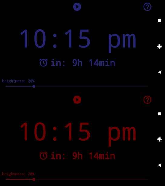 دانلود Radio Alarm Clock++ (clock radio and radio player) 2.5 - برنامه ساعت زنگدار رادیویی اندروید !