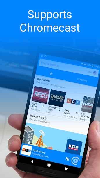 دانلود Radiogram - Radio (Ad Free) 1.3.5 - برنامه رادیو آنلاین باکیفیت و پر امکانات