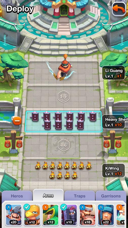 دانلود Rapid Clash 15.8 - بازی استراتژی آنلاین