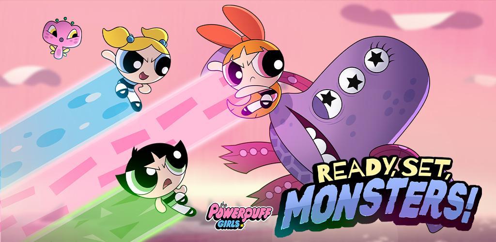 Ready Set Monsters - Powerpuff Girls Games
