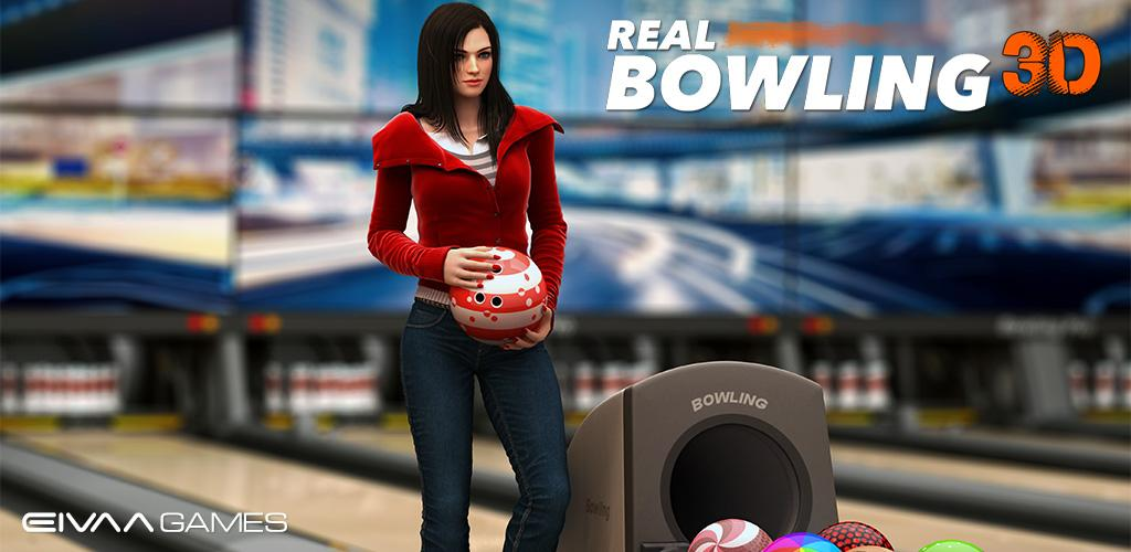 Real Bowling 3D Cover دانلود Real Bowling 3D 1.6 – بازی بولینگ واقعی و همچنین سه بعدی آندروید !