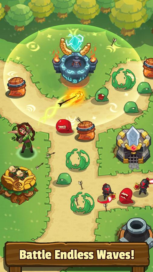 دانلود Realm Defense: Hero Legends TD 2.4.1 - بازی دفاع از قلمرو اندروید + مود