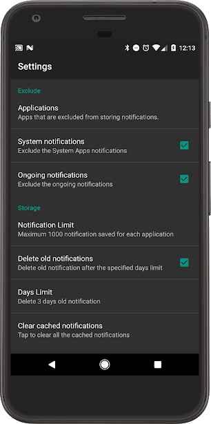 دانلود Recent Notification Full 3.2.2 - اپلیکیشن دسترسی به نوتفیکیشن ها اخیر اندروید !