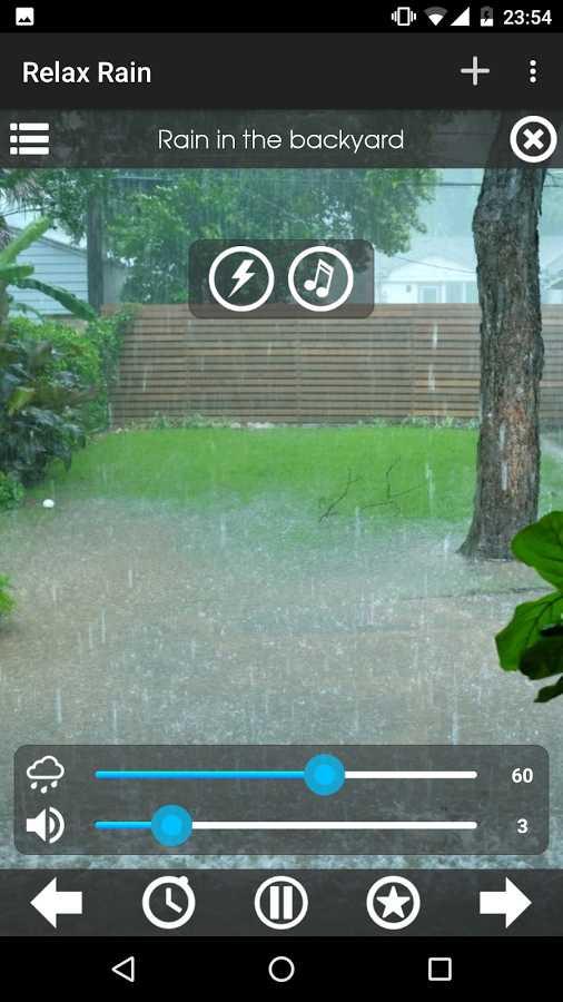 Relax Rain - Rain sounds Full