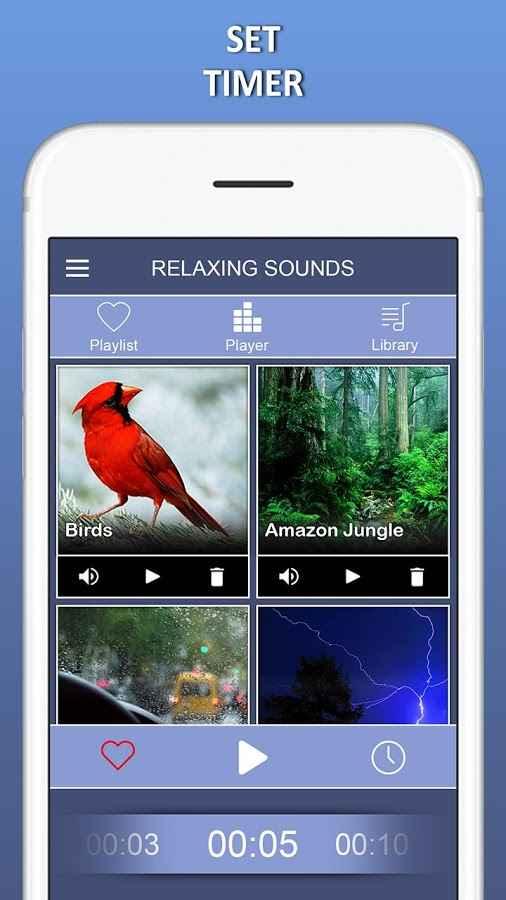 دانلود Relaxing Music -Melodies, Sleep Sound,Spa Music Premium 1.0 - مجموعه موسیقی های آرام بخش اندروید
