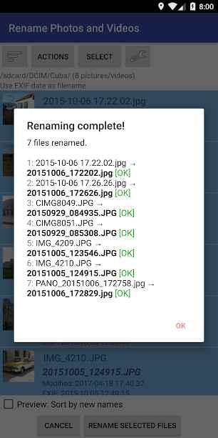 دانلود Rename Photos and Videos 1.9.3-pro - برنامه تغییر نام تصاویر و ویدئو مخصوص اندروید