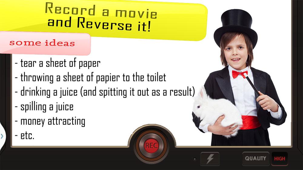 دانلود Reverse Movie FX Unocked 1.4.0.1.0 - برنامه معکوس کردن ویدئو اندروید !