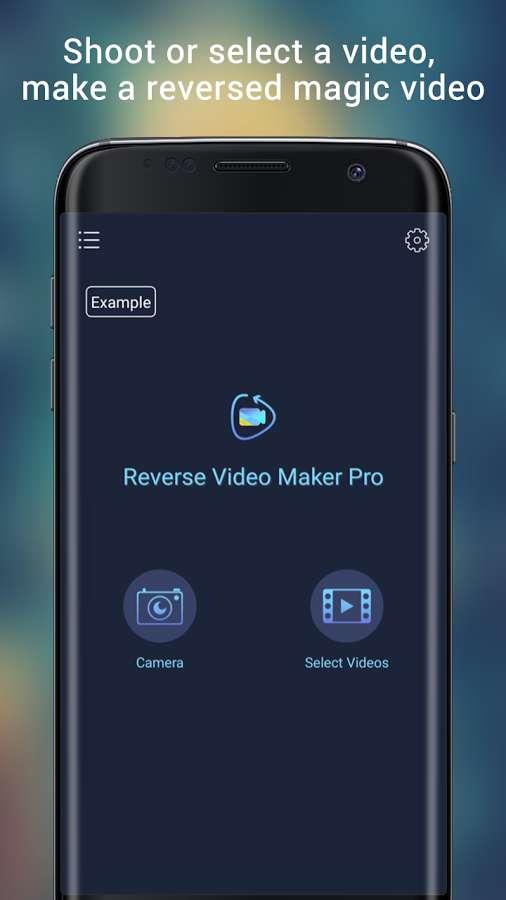 دانلود Reverse Video Maker Pro 2.0.2 - برنامه ساده و آسان معکوس کردن ویدئو اندروید