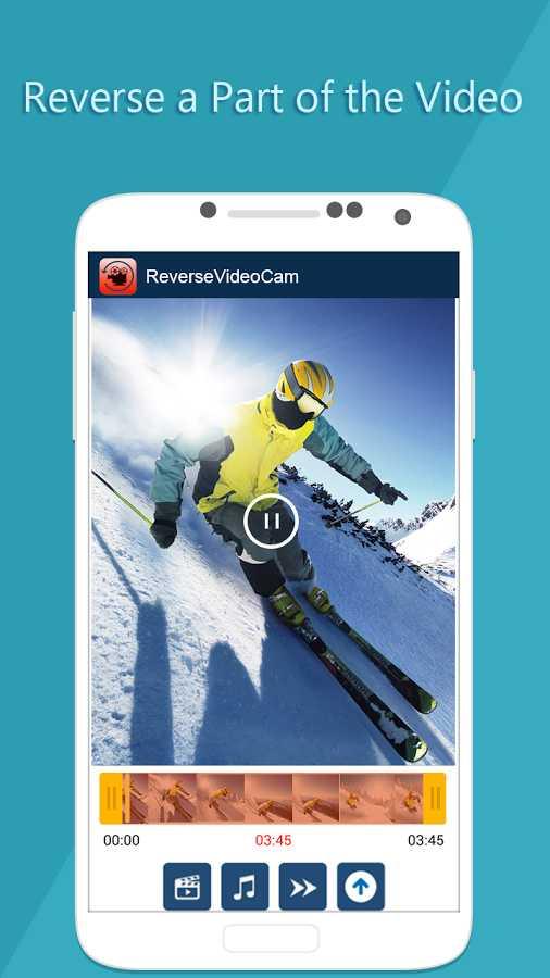 دانلود Reverse Video Movie Camera Fun Premium 1.50 - ساخت آسان ویدئو معکوس اندروید