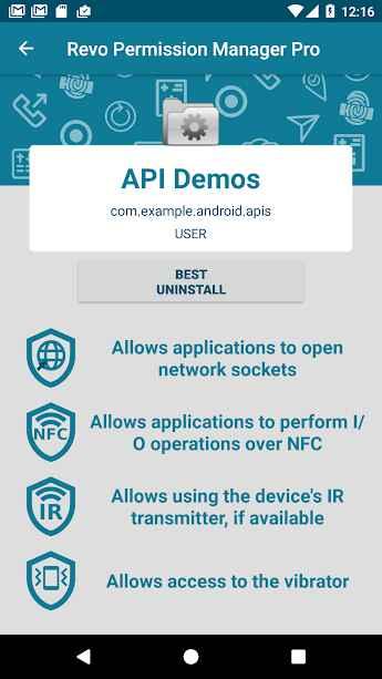 دانلود Revo App Permission Manager 1.1.240 - ابزار مدیریت حرفه ای دسترسی برنامه ها اندروید !