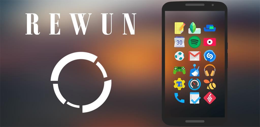 Rewun - Icon Pack