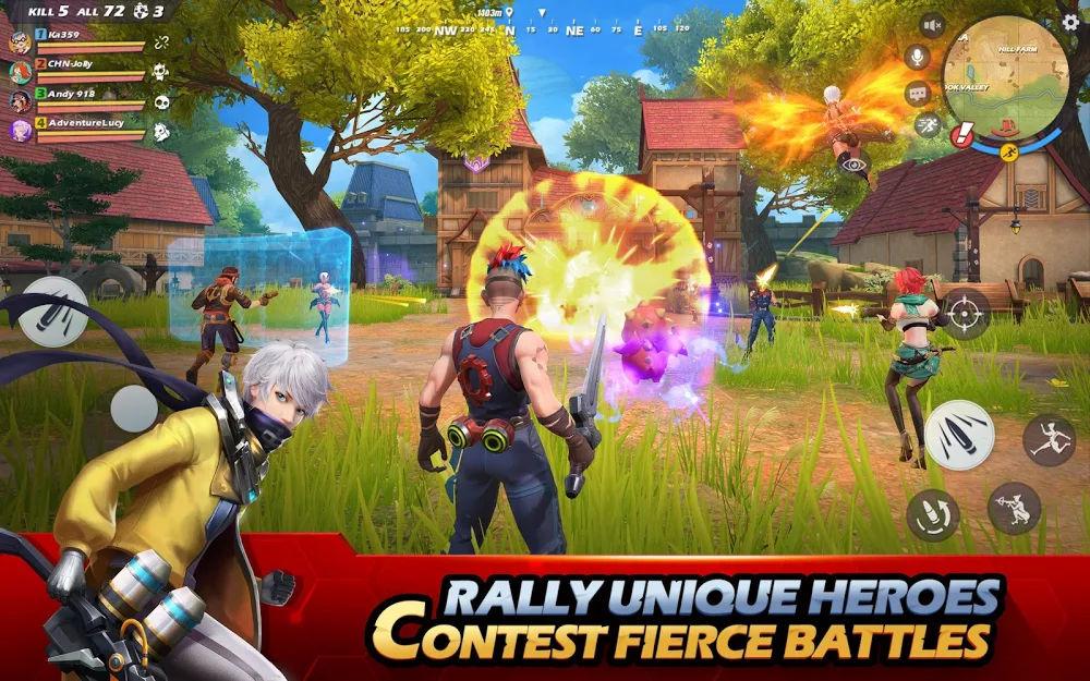 دانلود Ride Out Heroes 1.400018.373542 - بازی اکشن بتل رویال