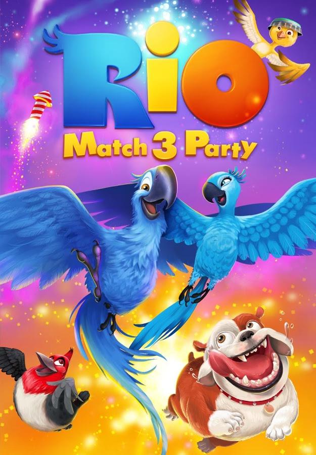 دانلود Rio: Match 3 Party 1.13.2 - بازی پازل خوشمزه و جالب پرندگان خشمگین اندروید + مود