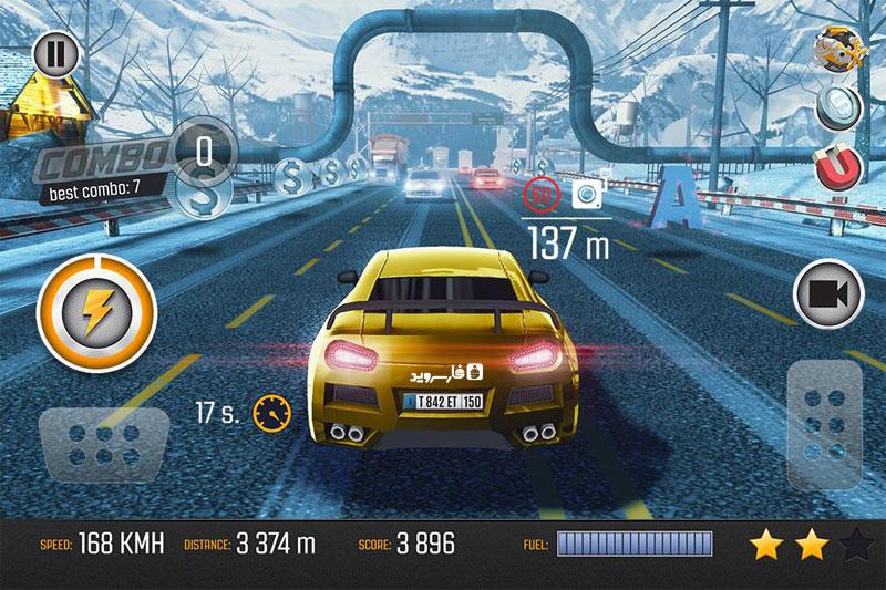 دانلود Road Racing: Traffic Driving 1.02 - بازی فوق العاده ماشین سواری در ترافیک اندروید + مود
