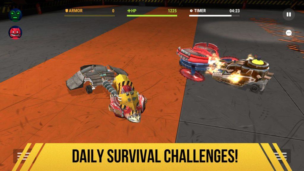 دانلود Robot Fighting 2 - Minibots 3D 2.3.15 - بازی اکشن نبرد روبات های کنترلی اندروید + مود
