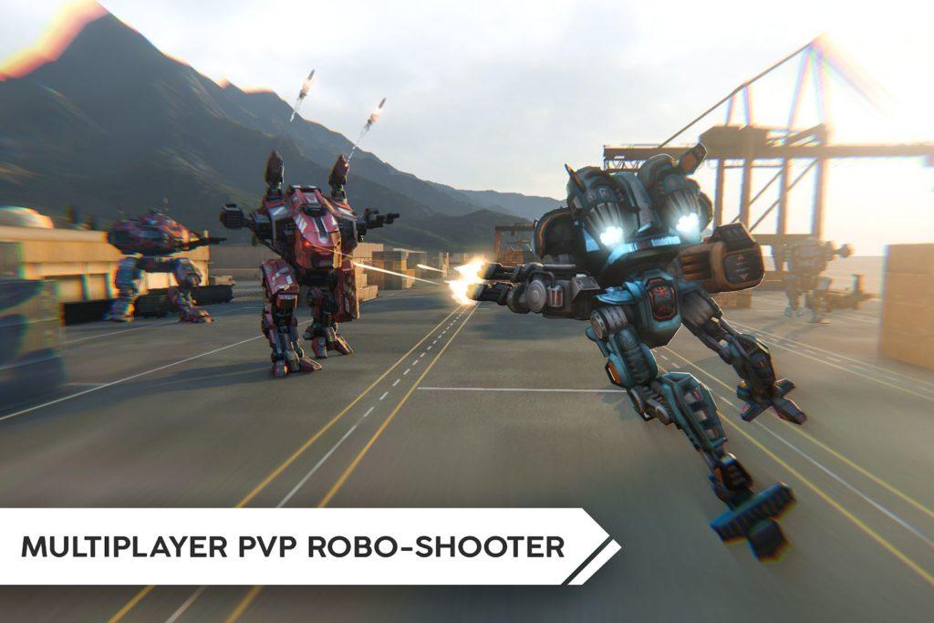 دانلود Robot Warfare: Mech battle 0.2.2272 - بازی اکشن