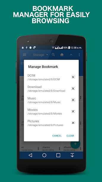 دانلود Rockers File Manager Pro 0.9 - مدیریت فایل ایمن و ساده اندروید !