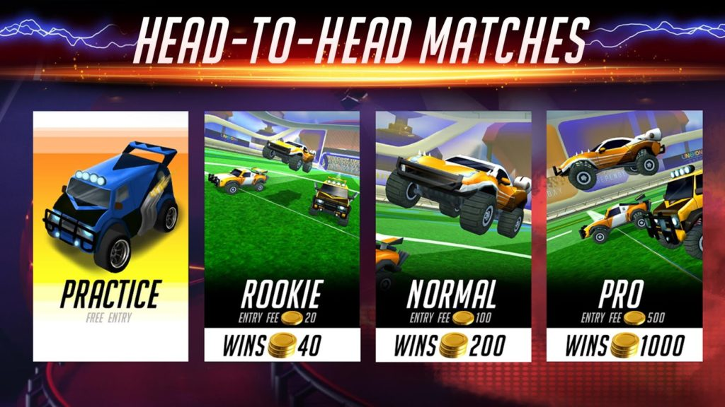 دانلود Rocketball: Championship Cup 1.1.1 - بازی فوتبال ماشین ها اندروید + مود