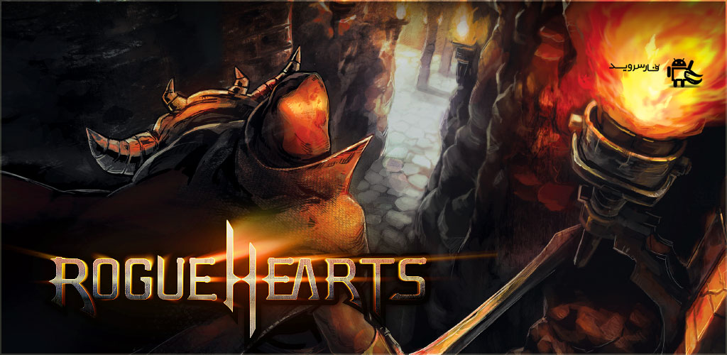 "Rogue Hearts Cover دانلود Rogue Hearts 1.3.6 – بازی نقش آفرینی ""قلب ها سرکش"" آندروید + دیتا"