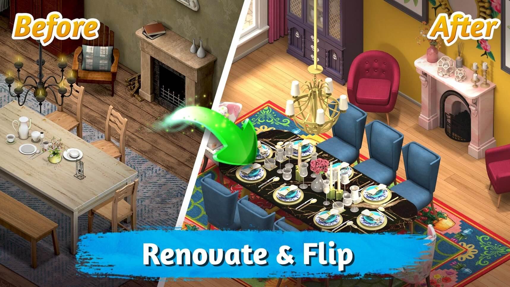 Room Flip Design Dream Home