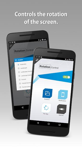 دانلود Rotation Control Pro 3.3.1 - مدیریت چرخش صفحه نمایش اندورید