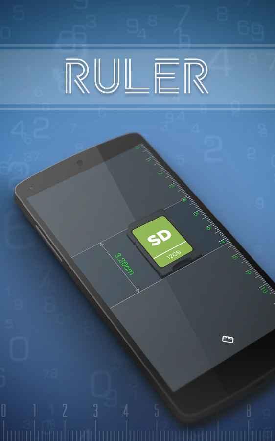 دانلود Ruler Full 1.1.0 - برنامه تبدیل اندروید به خط کش حرفه ای !