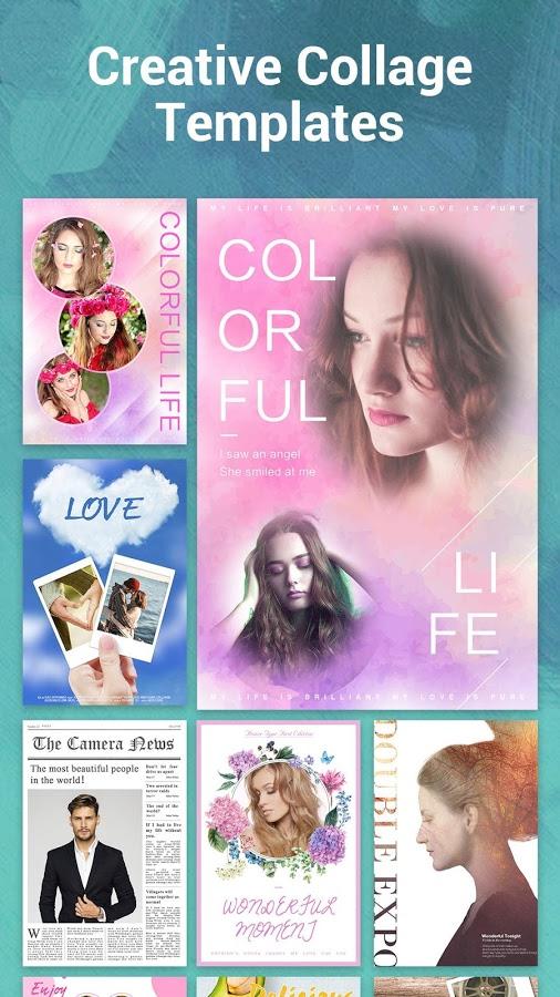 دانلود S Photo Editor - Collage Maker Full 2.34 - ویرایشگر هوشمند و فوق حرفه ای تصاویر اندروید