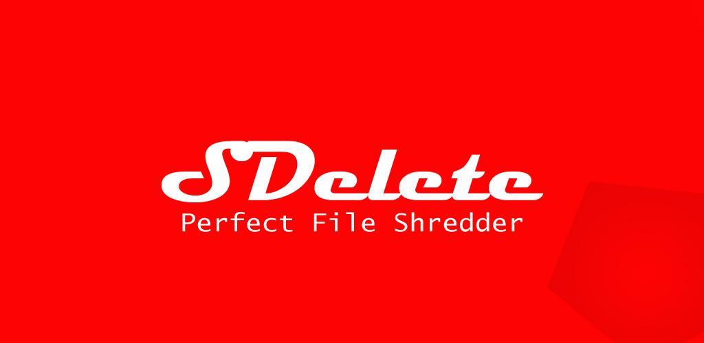 SDelete Pro File Shredder دانلود SDelete Pro – File Shredder 2.0 – برنامه جذاب و جالب و خوب حذف دائمی و همچنین غیر قابل بازگشت فایل آندروید