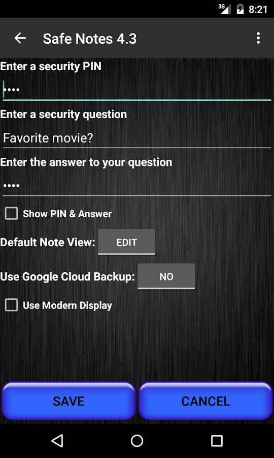دانلود Safe Notes Pro Secure NotePad 4.9.1 - دفترچه یادداشت امن اندروید !