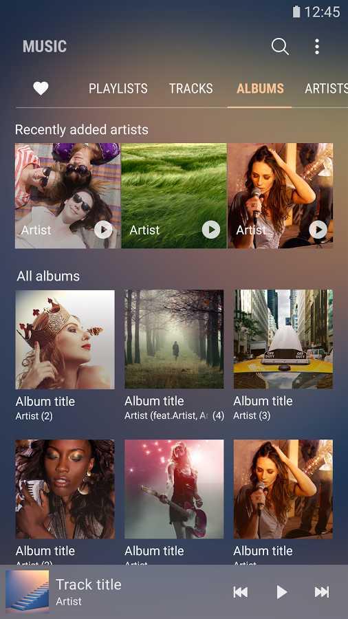 دانلود Samsung Music 16.2.13.24 - موزیک پلیر سامسونگ اندروید + Sound picker