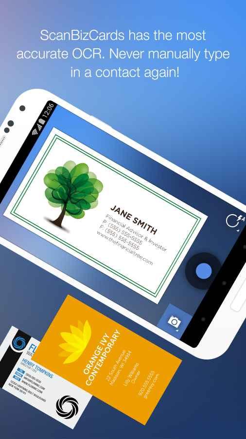دانلود ScanBizCards Premium 5.0 - اسکن کارت تجاری مخصوص اندروید !