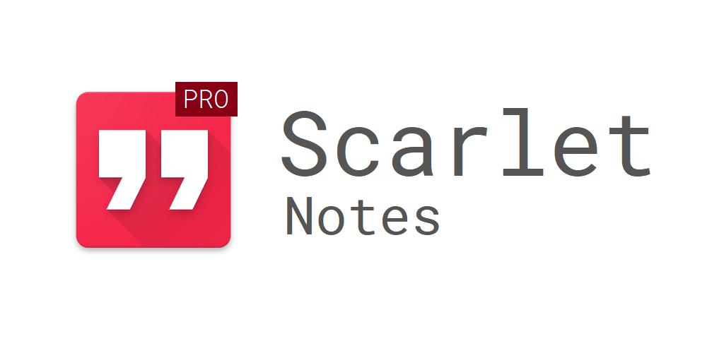 Scarlet Notes Pro