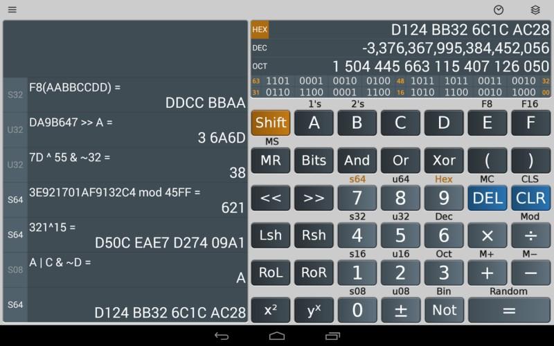 دانلود Scientific Calculator Plus 6.7.2 - ماشین حساب علمی و فوق پیشرفته اندروید