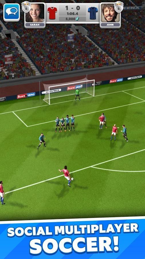 دانلود Score! Match 1.60 - بازی فوتبال فوق العاده زیبا
