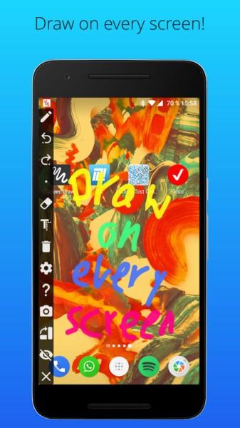 دانلود Screen Draw Screenshot Pro 1.0 - اسکرین شات صفحه نمایش اندروید