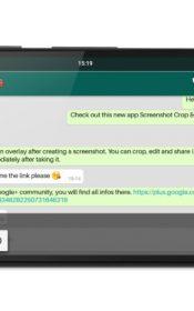 Screenshot Crop & Share