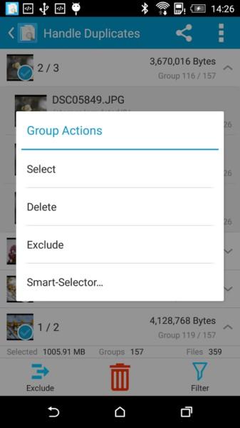 دانلود Search Duplicate File Pro 4.91 - برنامه شناسایی و حذف فایل های تکراری اندروید