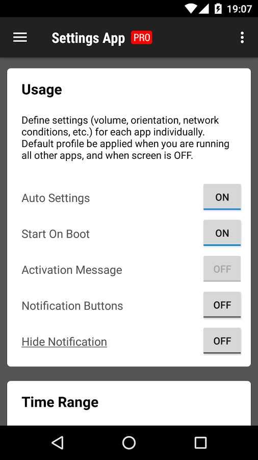 دانلود Settings App Pro 1.0.131 - تنظیمات مختلف برنامه های اندروید!