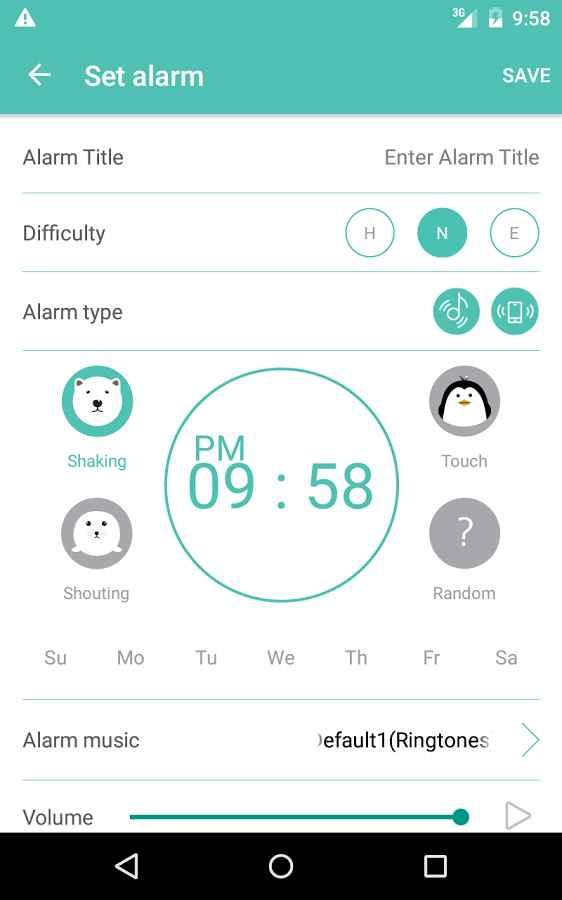 دانلود Shake-it Alarm 5.1.4 - برنامه آلارم کامل و هوشمندانه اندروید !