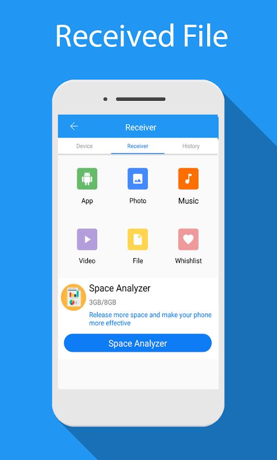 دانلود Share - File Transfer & Connect 1077.9 - برنامه اشتراک گذاری فایل اندروید ؛ بهترین جایگزین شیر ایت!