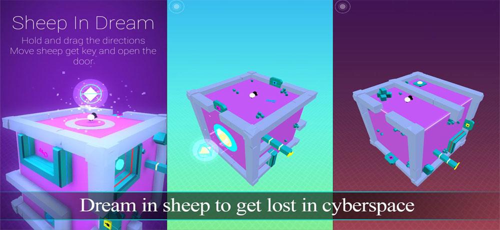"""دانلود Sheep In Dream - بازی پازل """"گوسفند در رویا"""" اندروید + تریلر"""