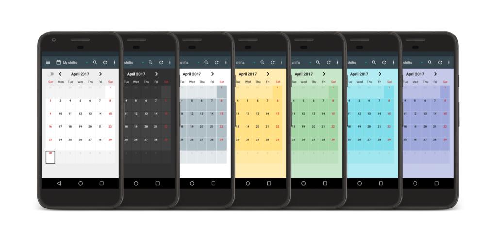 Shift Calendar Premium