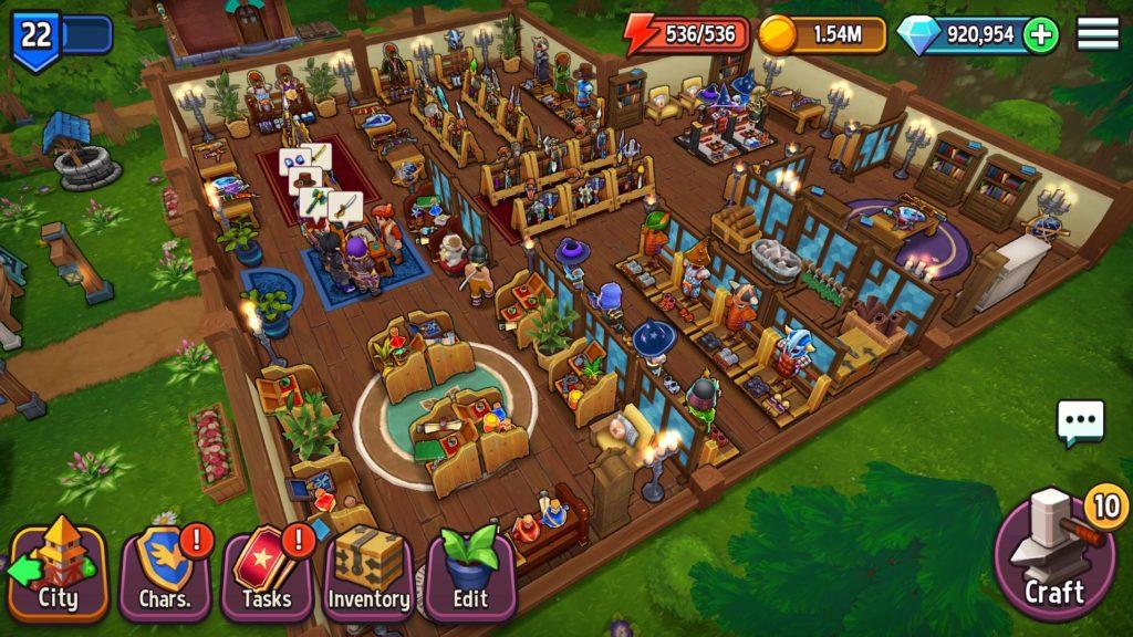 دانلود Shop Titans: Design & Trade 3.3.1 - بازی شبیه ساز