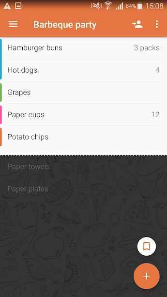 دانلود Shopping List - Buy Me a Pie PRO 3.5.23 - برنامه تهیه لیست خرید مواد غذایی اندروید