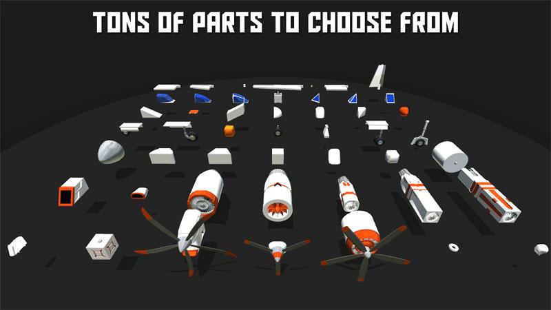 دانلود SimplePlanes 1.8.308 - بازی طراحی و شبیه سازی هواپیما اندروید !
