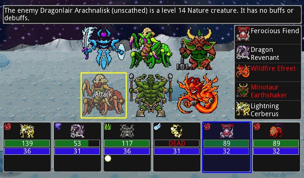 دانلود Siralim 2 (Monster Taming RPG) 2.4.10 - بازی نقش آفرینی پیکسلی