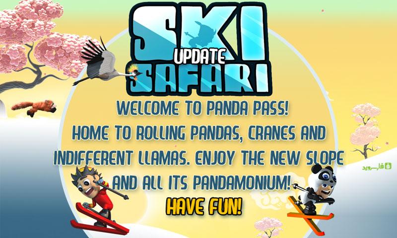 دانلود Ski Safari 1.5.4 - بازی اسکی سافاری 1 اندروید + مود